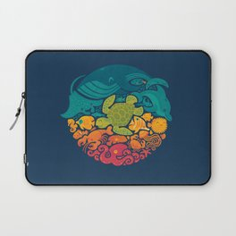 Aquatic Rainbow Laptop Sleeve