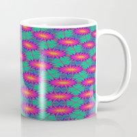 tie dye Mugs featuring Tie Dye by Cherie DeBevoise
