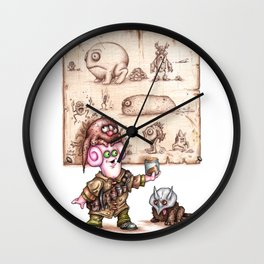Zlozz and his Poo! Wall Clock