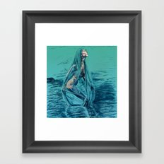 Danaë's Immaculate Conception (Revised) Framed Art Print
