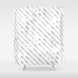 Gray Abstract geometric background #society6 #decor #buyart #artprint Shower Curtain
