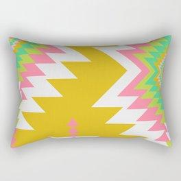 Bohemian shapes Rectangular Pillow