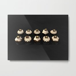 Happy Birth Day cup cakes Metal Print