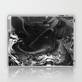 // MARBLED BLACK // Laptop & iPad Skin