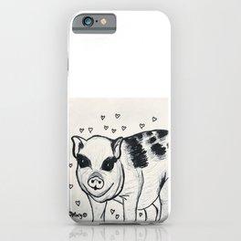 Pretty Little Piggy iPhone Case