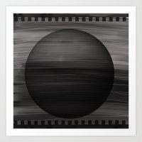 Negativity Art Print