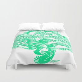 Lonely Hydra Duvet Cover