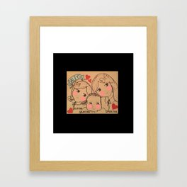 Cousins - Daleys Framed Art Print