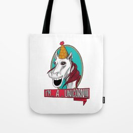 Sylvester the Wannabe Unicorn Tote Bag