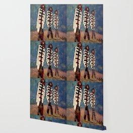 Atlante 18·5·16 / Fish Spines Wallpaper