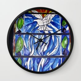 Solace, Now and Forever Wall Clock