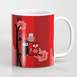 Red Owls Coffee Mug