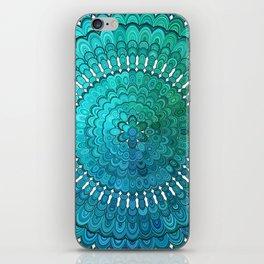 Turquoise Mandala iPhone Skin