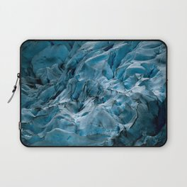 Blue Ice Glacier in Norway - Landscape Photography Laptop Sleeve