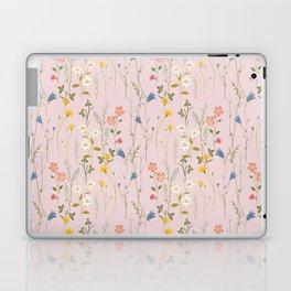 Dreamy Floral Pattern Laptop & iPad Skin