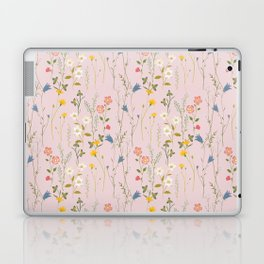 Dreamy Floral Pattern Laptop & iPad Skin