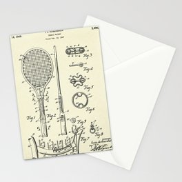 Tennis Racket-1948 Stationery Cards