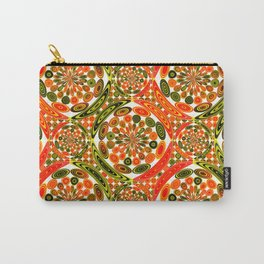 Colorful geometric abstract Carry-All Pouch
