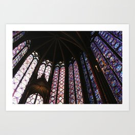 Sainte-Chapelle Art Print