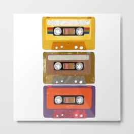 play my music Metal Print