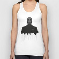 tupac Tank Tops featuring Tupac portrait by Beitebe