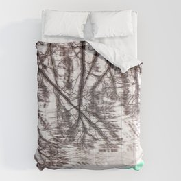 Glitch in the Forest Comforters