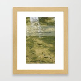 Every Walk With Nature Framed Art Print