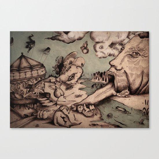 Deadly Sins Valley Canvas Print