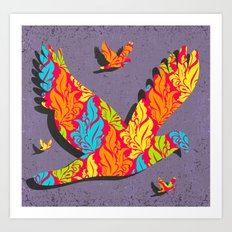 Free as a Bird Art Print