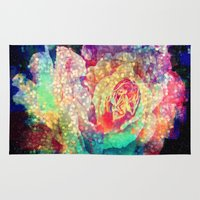 roses Area & Throw Rugs featuring Roses by haroulita