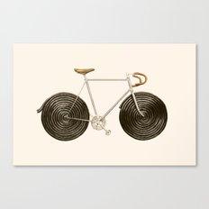 Licorice Bike Canvas Print