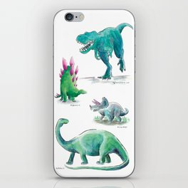 Dino Days iPhone Skin