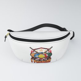 Just The Tip I Promise Pool Cue Billiards Pun Fanny Pack