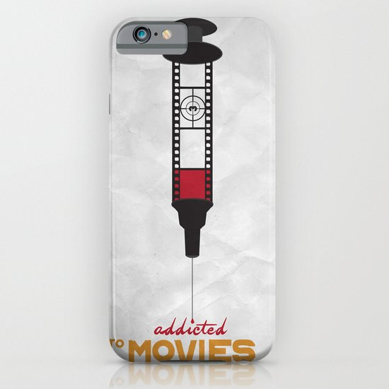 Addicted: Movies iPhone & iPod Case