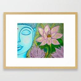 Blueddah Framed Art Print