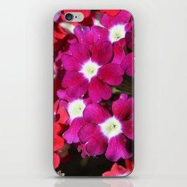 verbena flowers iPhone Skin