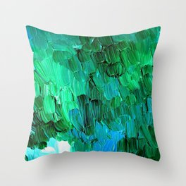 Forest Reverie Throw Pillow