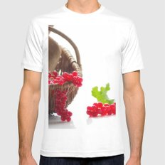 Fresh fruity Decorating Mens Fitted Tee MEDIUM White