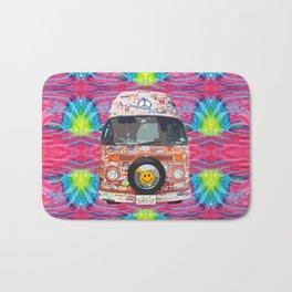 Groovy Hippie Van Bath Mat
