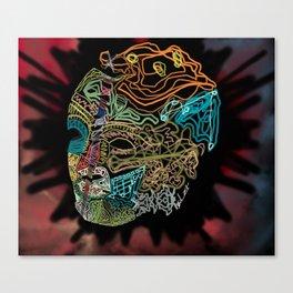 Sown Head Canvas Print