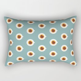 Sweets coffee pattern Rectangular Pillow
