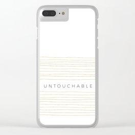 Untouchable Clear iPhone Case