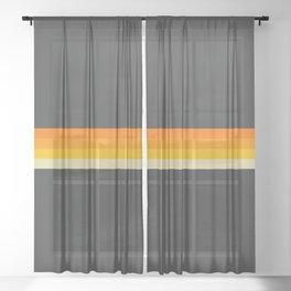 Classic Retro Cihuateteo Sheer Curtain
