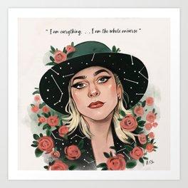 Birthday Queen Art Print