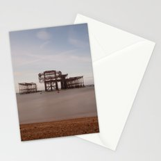 Remains Of brighton Pier Stationery Cards