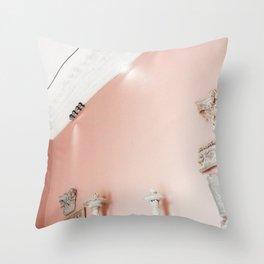 Blush Space Throw Pillow