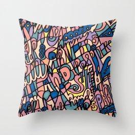 Jammin' Good (Tropical Breeze) Throw Pillow