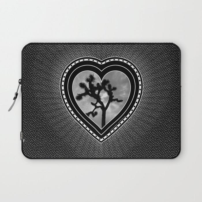 Joshua Tree Heart of the Hi-Desert by CREYES Laptop Sleeve