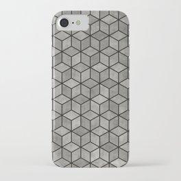 Concrete Cubes iPhone Case