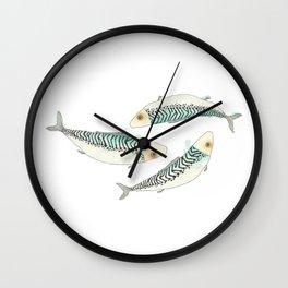 LOVE FISH - MACKEREL Wall Clock